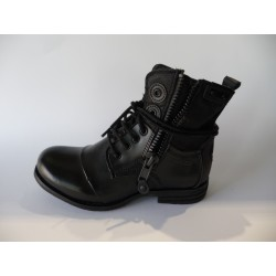 Belike-ZIP H16-FEMME-CHAUSSURES-BOOTS - BOTTINES-BUNKER