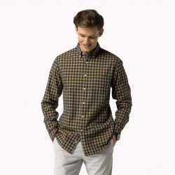 Belike-08878A0712 GINGHAM-HOMME-VETEMENTS-CHEMISE-TOMMY HILFIGER