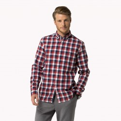 Belike-08878A0755 GINGHAM-HOMME-VETEMENTS-CHEMISE-TOMMY HILFIGER